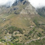 Kloof Corner, Table Mountain. Table Mountain Treks and Tours. Cape Hiking Trails.
