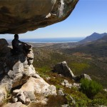 View towards Noordhoek Beach, Cape Peninsula. Table Mountain Treks and Tours. Guided Hiking Trails.
